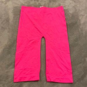LF Seamless Hot Pink Neon Long Biker Shorts